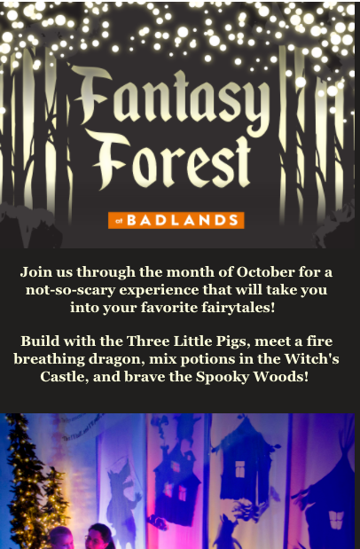 Fantasy Forest Exhibit Opening-Email