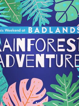 Rainforest Adventure Weekend Programming- Social Media
