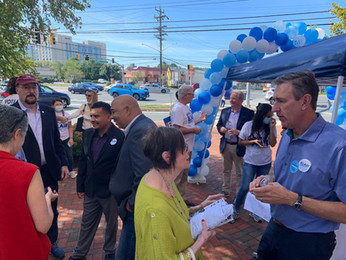 David Blair, Supporters Celebrate Grand Opening of County Executive Campaign Office