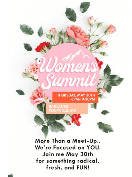 Women's Summit- Email