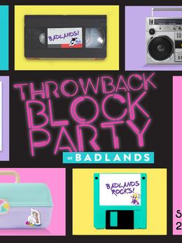 Throwback Block Party-Social Media