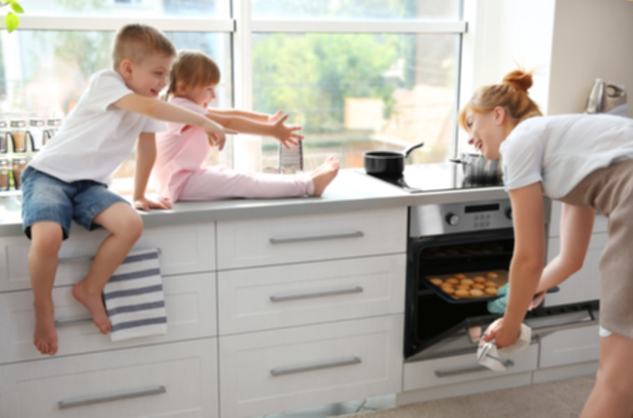 Family Kitchen Background