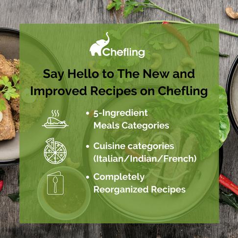 🎉🎉 New! Recipe Presentations on Chefling 🎉 🎉
