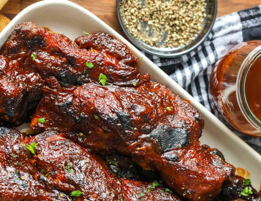 Bbq short rib recipe found on Chefling