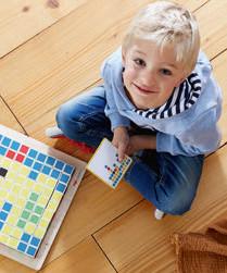 208656 - DigitalStarter : Jeu d'arrangement Pixels et Codes