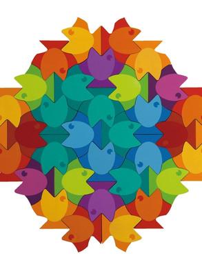 133132 - Puzzle « poisson »