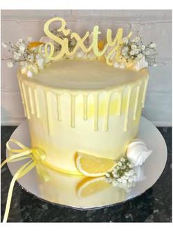 Lemon Drip Cake