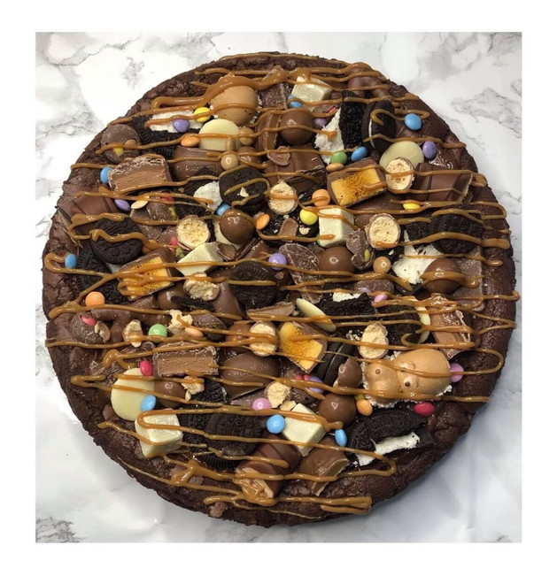 Chocolate Pizza Cookie