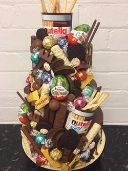 3 Tier Chocolate Drip Cake