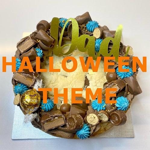"6"" Halloween Loaded Cookie"