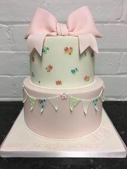 2 Tier Cath Kidson Cake