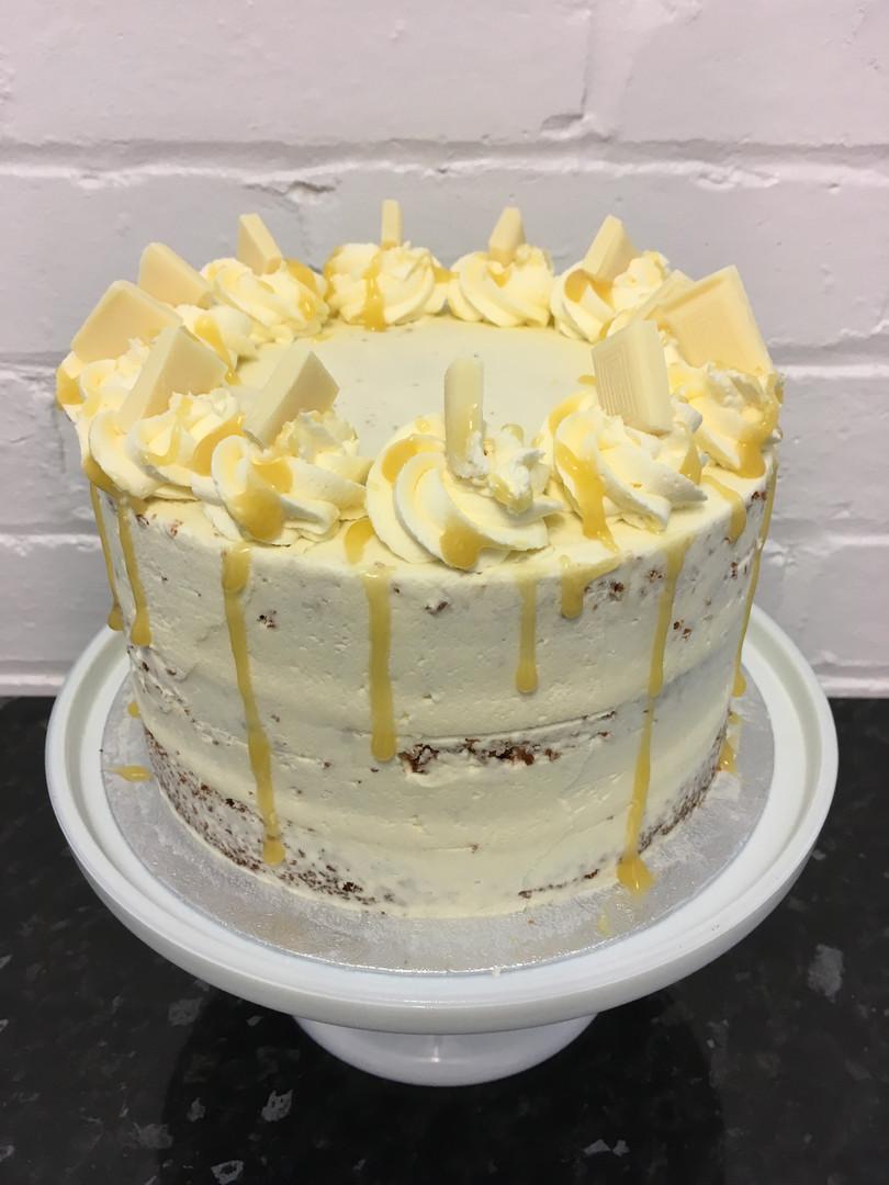 Lime & White Chocolate Cake