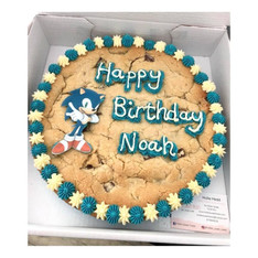 Sonic The Hedgehog Giant Cookie