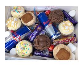Large Cupcake Birthday Box