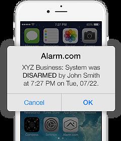 Alarm Dot Com for Business