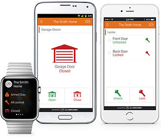 Alarm.com remote access
