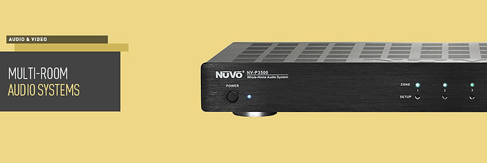 Nuvo Player, Home Audio, Nuvo Audio system