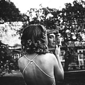 Latvian village bride