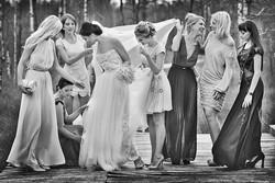vestuves reportazas wedding bride brides maids pamerges