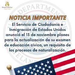 El Servicio de Ciudadanía e Inmigración