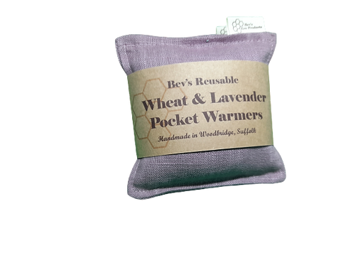 Wheat & Lavender Pocket Warmers