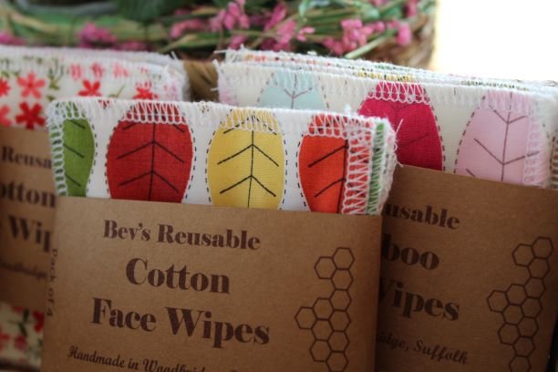 Bevs Eco Products bamboo and cotton face