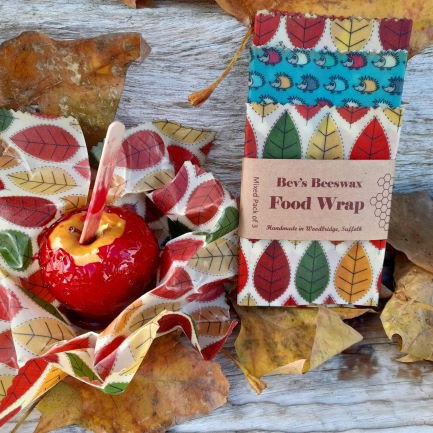 Mixed Pack of 3 Beeswax Wraps