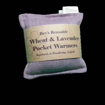 Wheat & Lavender Pocket Warmers