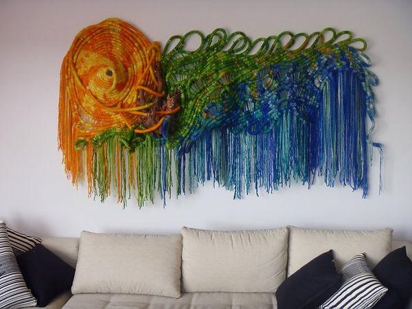 1ARRECIFE- 2005   largo 200cm x 100cm an