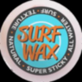 water surf wax