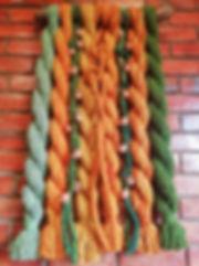 6 ARBOLES ENTRELAZADOS      largo 100cm