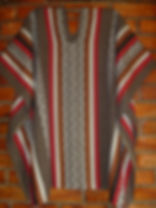 Poncho  Capota largo 90cm  x  120cm anch