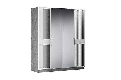 Шкаф 4 двери БЕРЖЕР