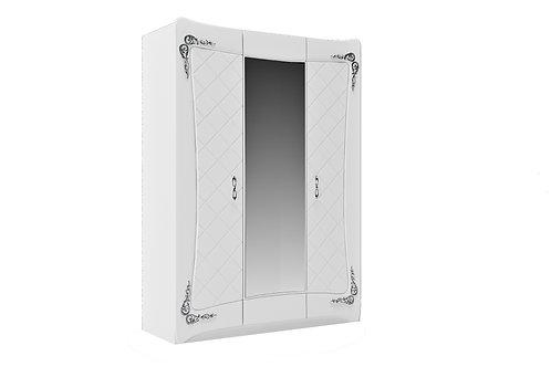 Шкаф 3 двери 1 зеркало АДЕЛИНА