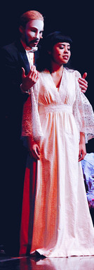 "Francesca as Christine in ""The Phantom of the Opera"" Stanford University, 2018"