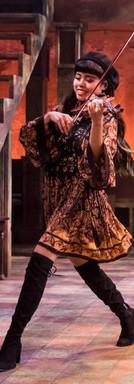 "Francesca as Ex-Girlfriend/Violin in ""Once"" Theater Latte Da, 2018 Photo by Dan Norman"