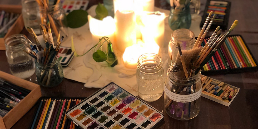 Mom's Night Out Art Circle Benefit for the Tree House Bereavement Center of Westchester