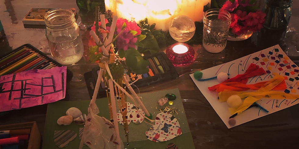 Moms Night Out Art Circle for Empty Nesters