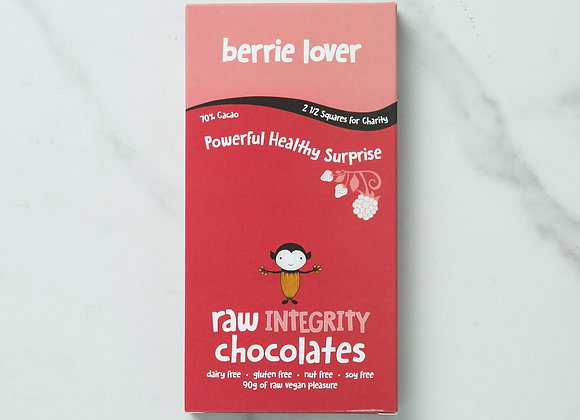 Berrie Lover Chocolate Bar 90g