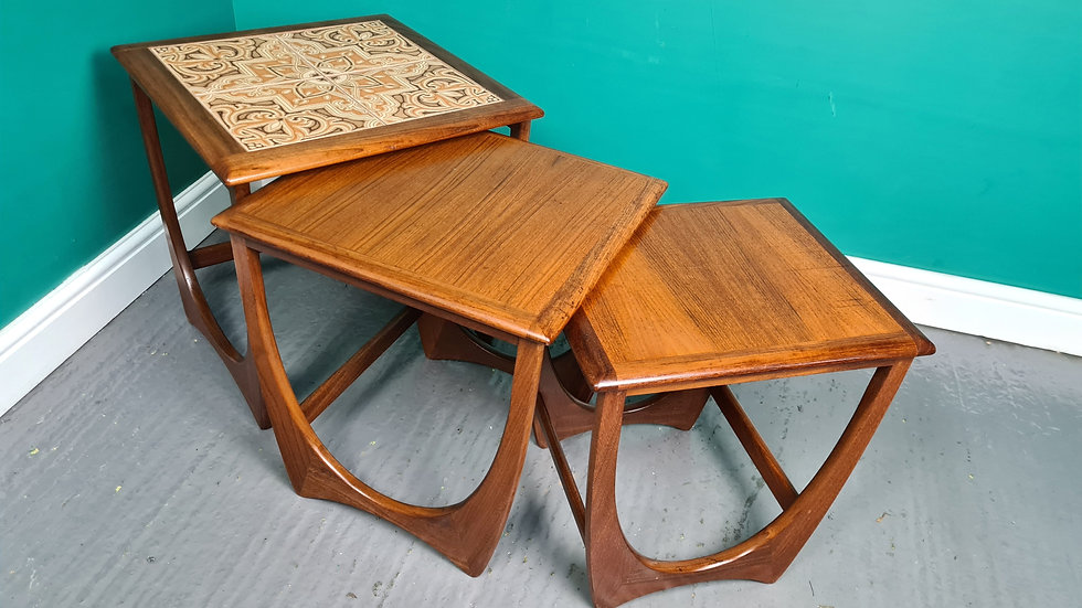 A Vintage Retro G Plan Astro Mid Century Nest of Tables ~Delivery Available~