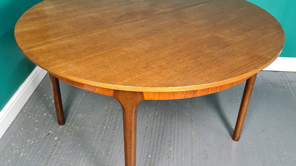 A Vintage Teak Extending Mcintosh Dining Table ~Delivery Available~