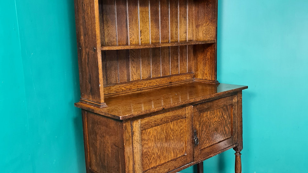 An Antique Early 20th Century Oak Welsh Dresser Sideboard ~Delivery Available~