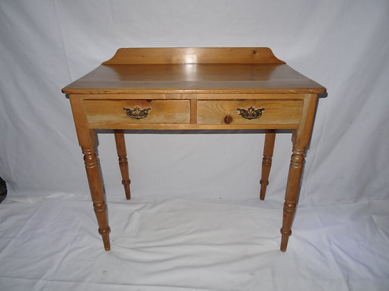 Victorian Pine Washstand Side Table