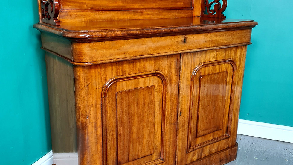 An Antique Victorian Chiffonier Sideboard Cabinet ~Delivery Available~