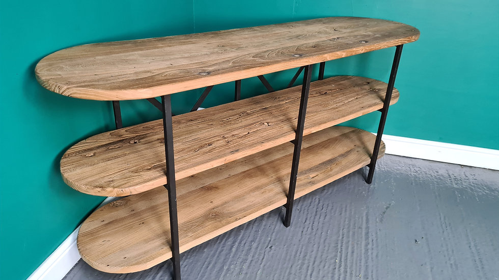 An Antique Reclaimed Side Hall Console Table Sideboard ~Delivery Available~