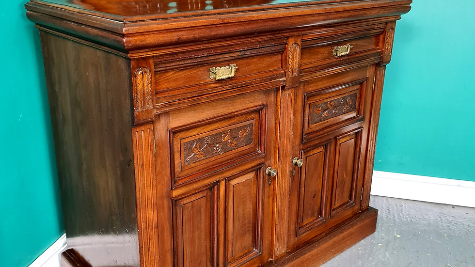An Antique Victorian Mahogany Cabinet Sideboard ~Delivery Available~