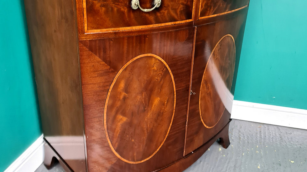 An Antique Style Mahogany T.V Cabinet Sideboard ~Delivery Available~