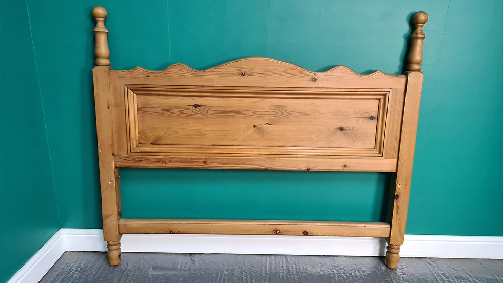 A Solid Pine Bed Headboard ~Delivery Available~