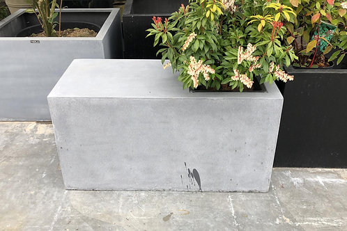 Seat pot fiberstone grijs 90x40H47