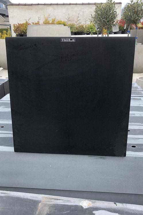 Fiber cubic zwart 40x40x40